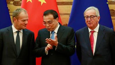 EU und China machen erstmals wieder Fortschritte in Handelsfragen