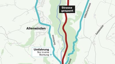 Vorbereitungen für Ausbau der Kantonsstrasse im Ägerital laufen bereits