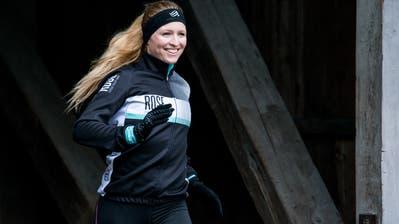 Die Bernerin Eva Hürlimann geht optimistisch ins Rennen und will in Buchs einen Weltrekord realisieren. (Bild: Katrin Meier)
