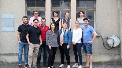Mitglieder des Stadtfest-2019-Organisationskomitees mit Geschäftsstellenleiterin Martina Dumelin (hinten 2.v.l.). (Bild: PD)