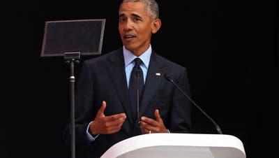 Obama: Nelson Mandelas Kampf gegen Diskriminierung ist weiter nötig