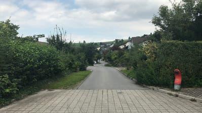 Die untere, südliche Wohnstrasse Obmatt – «zu schmal für mehr Verkehr», findet der Einsprecher. (Bild: PD)