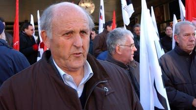 Er war einer der Hauptakteure bei der Aufdeckung der P-26: Werner Carobbio,SP-Nationalrat von 1975 bis 1999 und im Jahr 1990 Vizepräsident der PUK EMD.(Bild: Keystone/Karl Mathis (Bellinzona, 10. Dezember 2005))