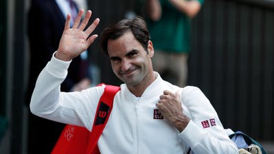 Federer trägt seit Montag nicht mehr Nike, sondern Sportkleidung der japanischen Marke Uniqlo. (Bild: Keystone/Nic Bothma)
