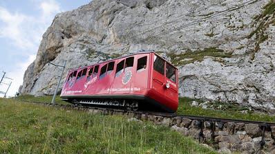 Zwei Zahnradbahn-Wagen am Pilatus zusammengestossen