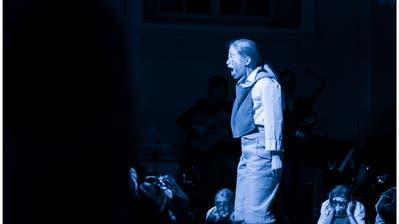 Szene aus «Struwelpeter», der letzten Jugendproduktion des Sirnacher Theaters Jetzt. (Bild: PD)