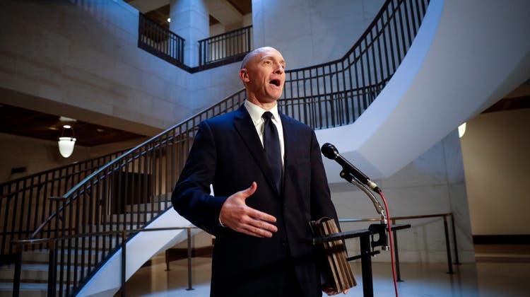 Unternehmer und Berater Carter Page. (Bild: J. Scott Applewhite/AP; Washington, 2. November 2017)