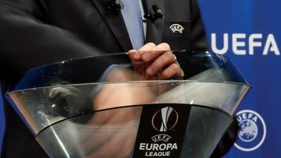Auslosung der Spiele der Europa League. (Bild: Salvatore Di Nolfi/Keystone)