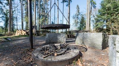 Zu riskant: Die Thurgauer Regierung verbietet Feuer im Wald, der Kanton St.Gallen zieht allenfalls nach.(Bild: Hanspeter Schiess)