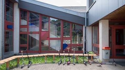 Das Schulhaus in Eggersriet, am Freitag, 2. Juni 2017. © Benjamin Manser / TAGBLATT