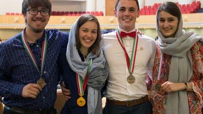 Maturandin aus Wettingen AG gewinnt Gold an Biologie-Olympiade