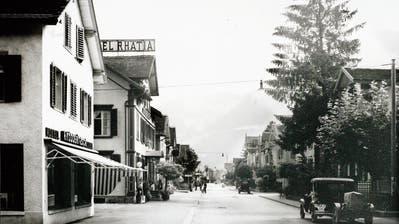 «Modern» war das erste Kaufhaus der Bahnhofstrasse