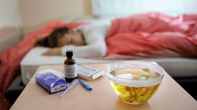 Wer unter der Legionärskrankheit leidet, hat grippeähnliche Symptome.(Symbolbild:Nadia Schärli)