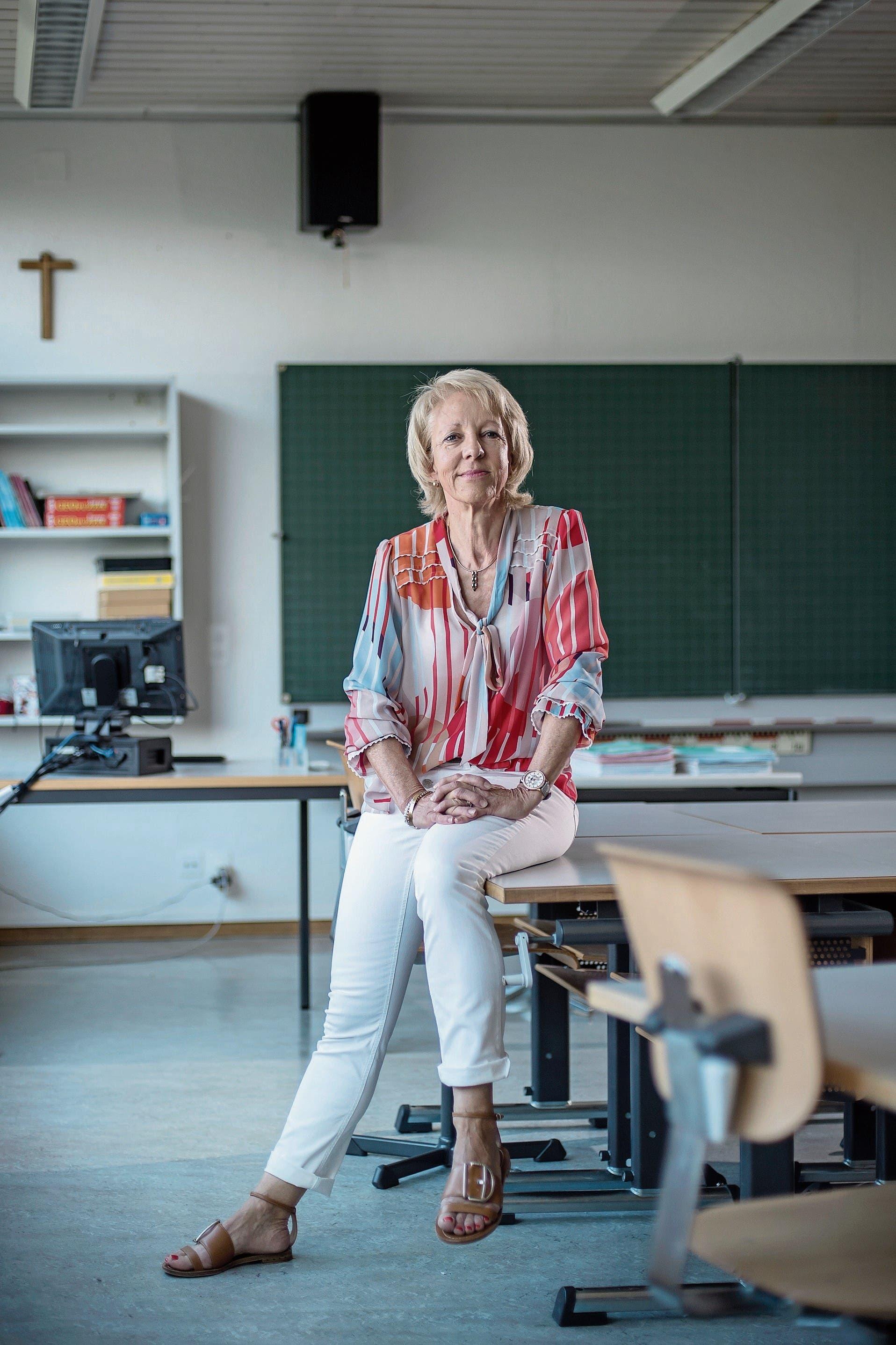 Albie Sieger im Zimmer 106 des Schulhauses Lindenfeld im luzernischen Eschenbach. Bild: Pius Amrein (27. Juni 2018)