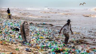 Vor allem in China wandert der ganze Plastikabfall insMeer – und in den Mägen der Seevögel. (Bild: Getty)