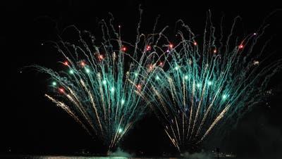 Für das Feuerwerk auf dem See haben die Veranstalter eine Ausnahmebewilligung erhalten. (Bild: Nana do Carmo)