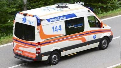 Horw: Motorradfahrerbei Kollision mit Auto lebensbedrohlich verletzt