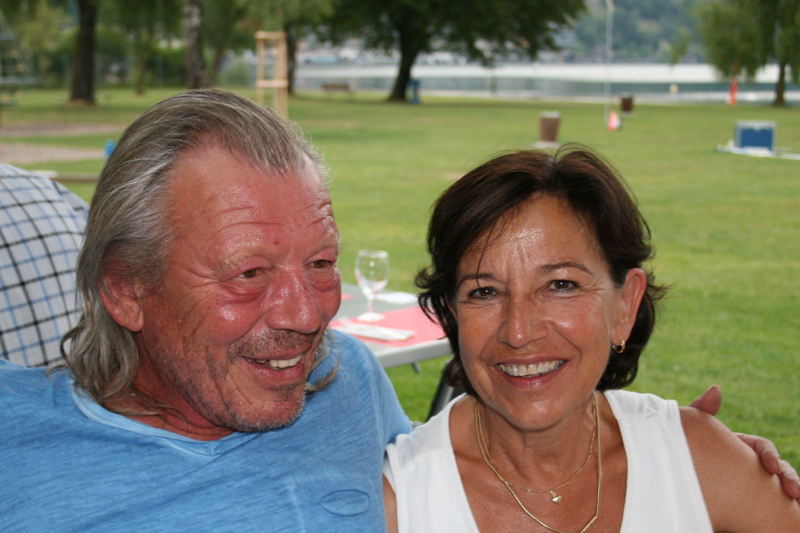 Werner und Bea Kaiser. (Bild: Sepp Odermatt (Ennetbürgen, 2. Juli 2018))