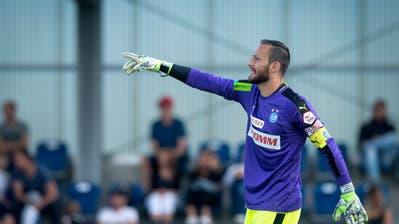 Mirko Salvi – hier imTestspiel zwischen GCund dem FC Aarau – wird die neue Nummer 1 beim FC Luzern. (Bild: Melanie Duchene/Keystone (Niederhasli, Samstag, 23. Juni 2018))