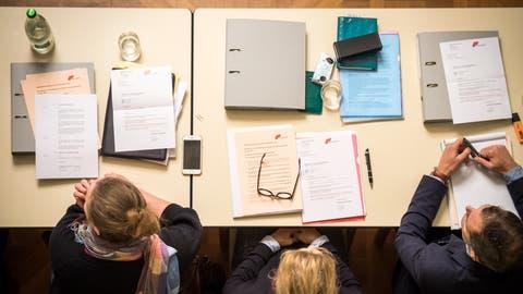 An Diskussionsstoff mangelt es im Frauenfelder Gemeinderat in der Regel nicht. (Bild: Reto Martin, 17. Dezember 2017)