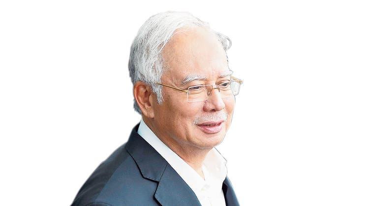 Najib Razak. (Bild: AP)