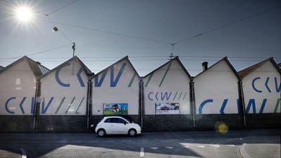 Die Shedhalle der CKW in an der Hauptstrasse in Reussbühl. (Archivbild: Pius Amrein)