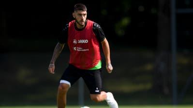 Der Argentinier Leonel Mosevich dürfte in Sarpsborg den gesperrten Milan Vilotic ersetzen. (Gian Ehrenzeller/Keystone)