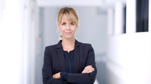 Isabelle Fol von der SUVA in Luzern (Bild: PD)