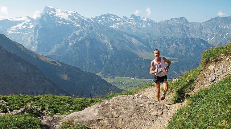 Viele Teilnehmer am Rugghubel Berglauf trotz Hitze