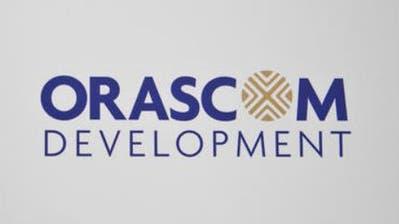 ARCHIVBILD ZU DEN HALBJAHRESZAHLEN VON ORASCOM, AM DIENSTAG, 14. AUGUST 2018 ---- Logo der Orascom Development, aufgenommen am 15. April 2010 in Altdorf. (KEYSTONE/Gaetan Bally)