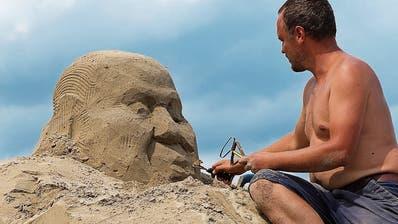 Rorschacher Sandskulpturen nehmen Formen an