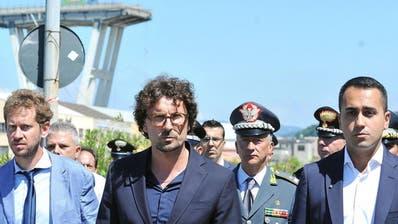 Weiter Vermisste unter Trümmern in Genua - Suche nach Schuldigen