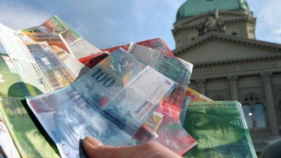 Bundesrat erwartet für 2018 einen Überschuss von 2,3 Milliarden