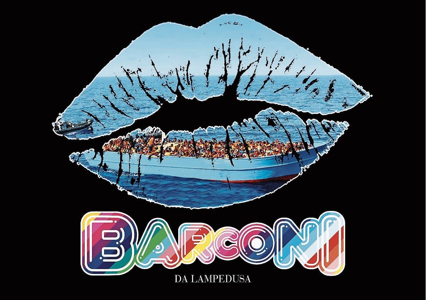 Barconi – Urlaubsgrüsse von den Schlepperkähnen: Postkarte von Matteo Franco.