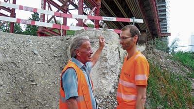 Sonntagsarbeit im Stundentakt: Rickenbacher Viadukt wegen Bauarbeiten gesperrt
