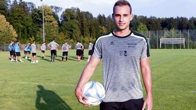 Sandro Foschini will auf dem Eizmoos einen langen Schatten werfen.(Bild:Werner Schelbert (Cham,2. August 2018))