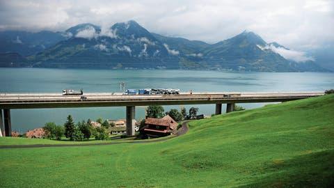 Der Lehnenviadukt in Beckenried ist «teilweise schadhaft»