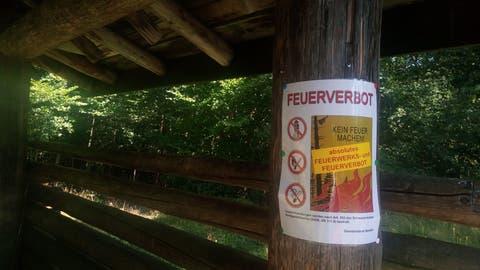 In den Gemeinden Rüthi, Sennwald, Gams, Grabs, Buchs und Sevelen bleibt das absolute Feuer- und Feuerwerkverbot für das gesamte Gemeindegebiet weiterhin gültig.