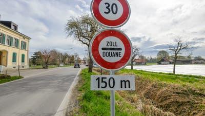 Der Grenzübergang beim Tägermoos verbindet Konstanz mit dem Thurgau. (Bild: Donato Caspari)