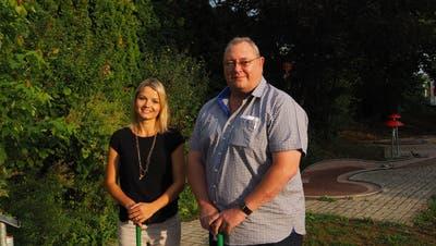 Amanda Zierie kandidiert für die Schulbehörde. Othmar Kaufmann will in den Gemeinderat. (Bild: PD)