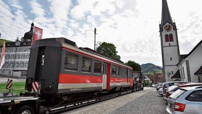 Nächster Halt Schrottplatz: Das passiert mit den alten Zügen der Appenzeller Bahnen
