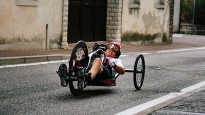 Sandra Graf gewinnt an der Para-WM die Bronzemedaille im Zeitfahren.