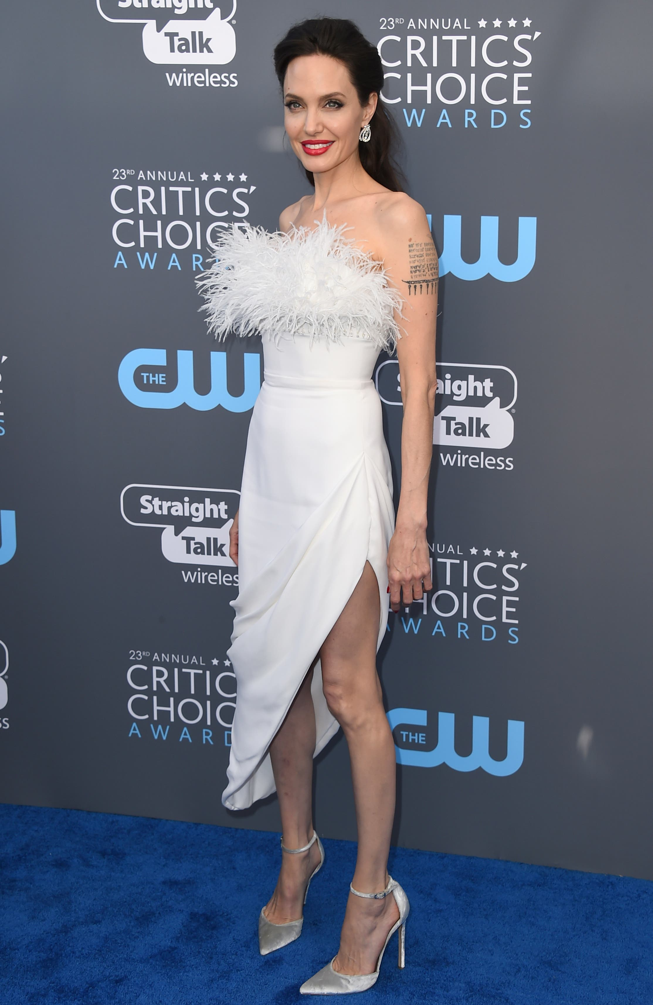 Schauspielerin Angelina Jolie auf einer Aufnahme vom 11, Januar dieses Jahres am Critics' Choice Awards in Santa Monica, Kalifornien. (Bild: Jordan Strauss/Invision/AP)