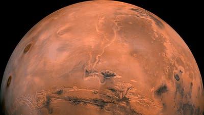 Der superhelle Mars ist weiterhin zu sehen