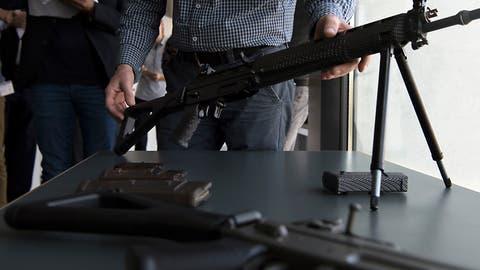 Auch die Ständeratskommission befürwortet Waffenexporte in Bürgerkriegsländer
