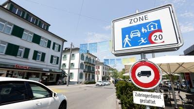Die Verkehrsführung auf dem Boulevard in Kreuzlingen ist ein Dauerthema. (Bild: Donato Caspari)