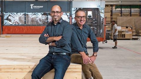Das Hochdorfer Holzbauunternehmen Tschopp wird schlagkräftiger