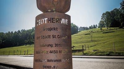 Geothermie in St.Gallen: Wissenschaftler nutzen das Bohrloch