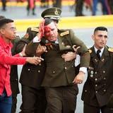 Sechs Personen festgenommen nach angeblichem Anschlag auf Maduro