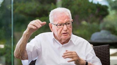 Hans Huber (1927 - 2018) (Bild: Benjamin Manser)
